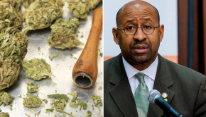 Philadelphia Mayor Signs Pot Decriminalization Bill