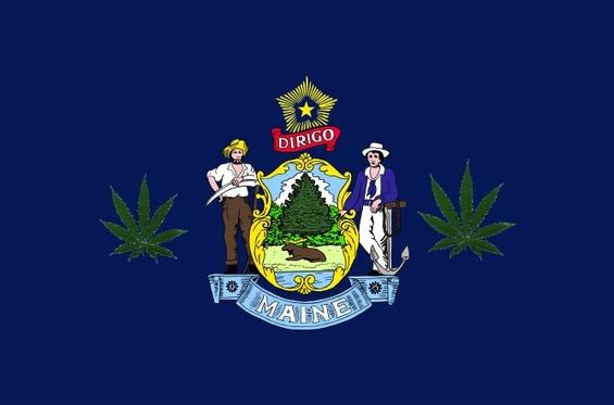 Second Recreational Marijuana Legalization Drive Begins in Maine