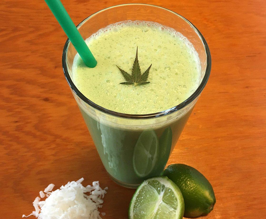 How to Make a Weed Milkshake