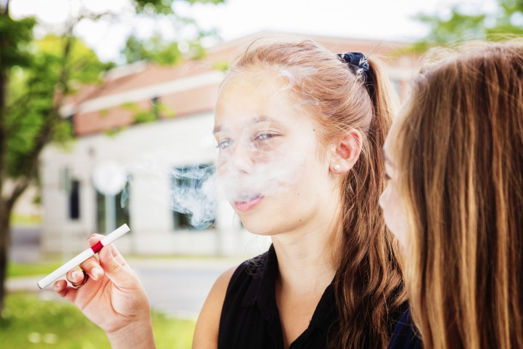 E-Cigarettes Teens Smoking