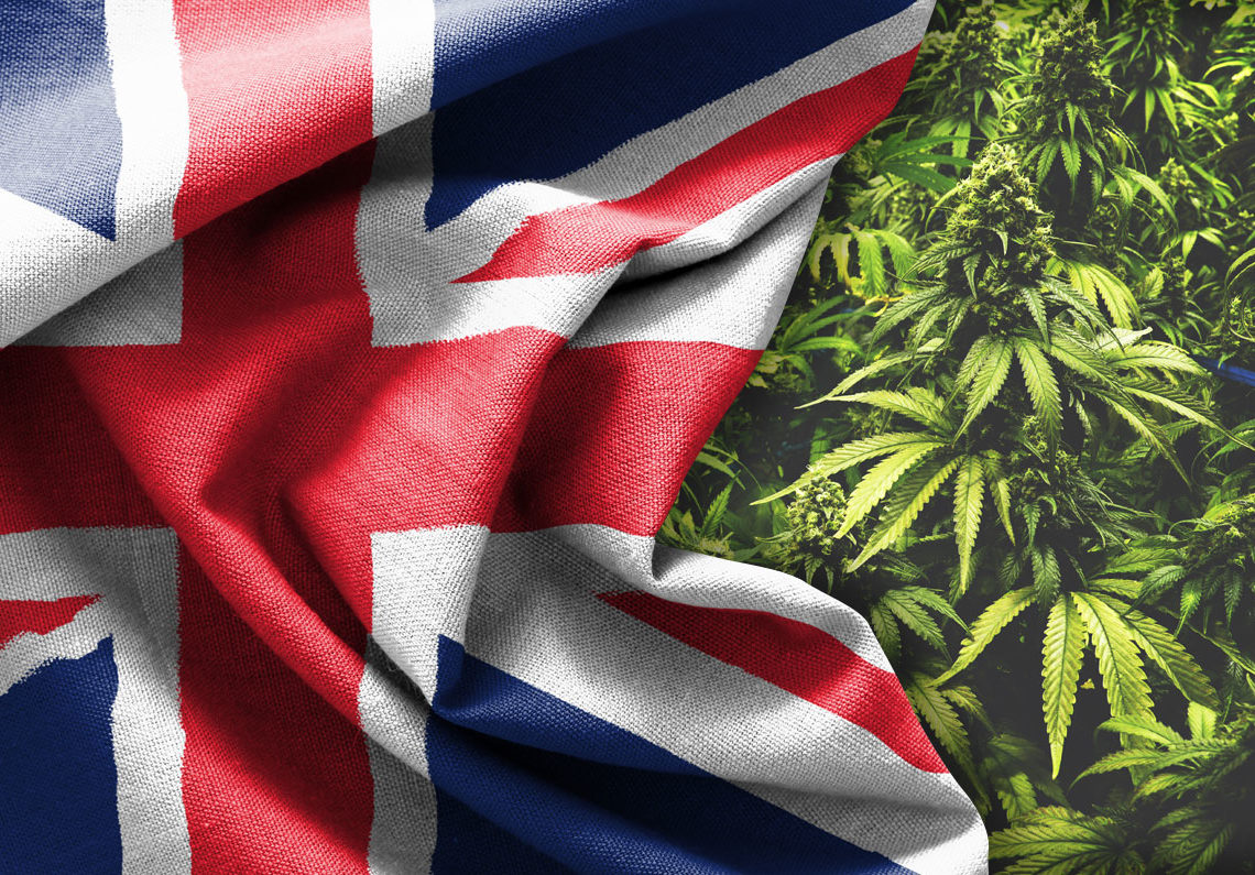 Medical marijuana legal in UK